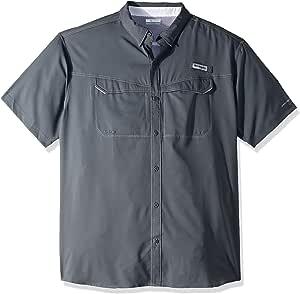 Columbia 低拖鞋 离岸 短袖衬衫 小号 灰色 1540071-053-Small