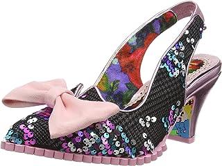 Irregular Choice 女士 First Dance 露跟凉鞋