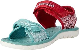 Clarks 女童 Surfing Sea K 露跟凉鞋
