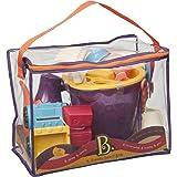 B. 玩具由 Battat B Ready Beach Bag 出品(红色)