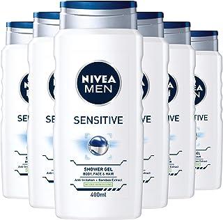 NIVEA 妮维雅 Sensitive 沐浴露 6 件装(6 x 400 毫升)