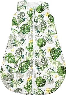 Bebe au Lait 雨林平纹细布睡袋,6-12个月,*,均码