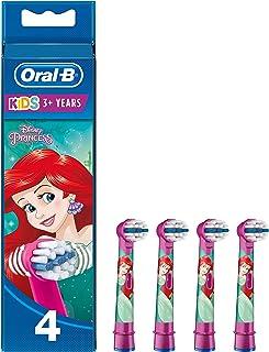Oral-B 欧乐B Stages Power 儿童电动牙刷替换刷头,印有迪士尼角色,单包4支(设计可能有所不同)