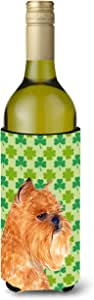 Brussels Griffon St. Patrick's Day Shamrock Portrait Michelob Ultra Koozies for slim cans SS4425MUK 多色 750 ml