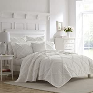 Laura Ashley Maisy 床上用品,白色 白色 Full/Queen USHSA91043935