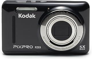 Kodak 柯达 FZ 53 数码相机 黑色 (1615万像素 2.7英寸屏 5光学变焦 28mm广角 720P高清拍摄)