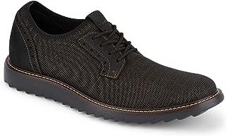 Dockers 男士 Einstein 针织/皮革智能系列正装休闲牛津鞋 NeverWet Bronze/Black Textile/Nubuck 9.5 M US