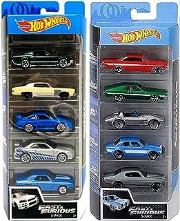 Hot Wheels Drift 5 Fast & Furious Speed 赛车套装,10 辆装 Ford / Impala / Corvette / Porsche / Nissan Skyline / Impala / Gran Tor...