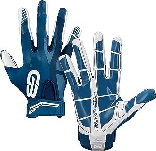 Grip Boost Stealth Super Sticky 橄榄球手套专业精英橄榄球手套青少年和成人尺码