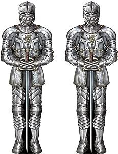 Beistle 加入式盔甲套装 银色 S57466AZ2