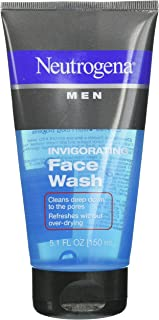 Neutrogena Men Invigorating Face Wash, 5.1 Ounce 4片装 4.00