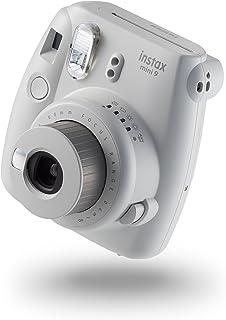 Fujifilm 富士 instax Mini 9 拍立得相机 - 烟白色 + 10张相纸套装
