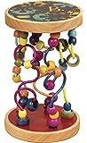 B. 玩具 - B. A-Maze Loopty Loo Bead Maze - 5 条彩色路线上的 47 颗珠子 - 木质婴儿玩具和学步儿童玩具 - 不含双酚 A