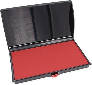 大号高级印章 - 7.62 厘米 x 15.24 厘米 - 优质毡垫 红色