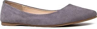 J. Adams Poppy 芭蕾平底鞋 - 休闲舒适尖头闭趾平底鞋