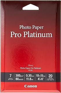 Canon 佳能 优质专业照片纸 PT-101 4*6(20)