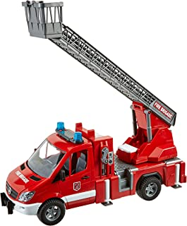 Bruder MB Sprinter 消防车,配有梯子水泵和光/声音模块