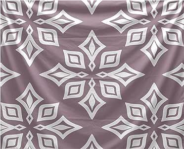 E By Design 海滩度假海滩星壁毯 紫色(Lavender) 50 x 60 TYG480PU14-50