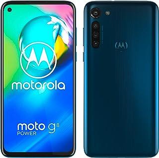 moto g8 power Dual-SIM Smartphone (6,4-Zoll-Max Vision-FHD+-Display, 16-MP-Hauptkamera, 64 GB/4 GB, Android 10) Blau inkl....