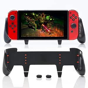 满意 - New SwitchGrip,配件兼容任天堂 Switch - 舒适符合人体工程学的开关手柄,Joy Con & 开关控制。 #1 专为游戏玩家设计的开关配件。 附赠:2 根拇指棒