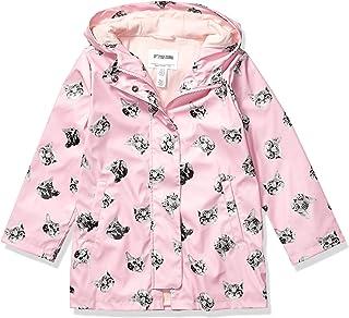 亚马逊品牌 - 斑点斑马女孩幼童和儿童雨衣外套