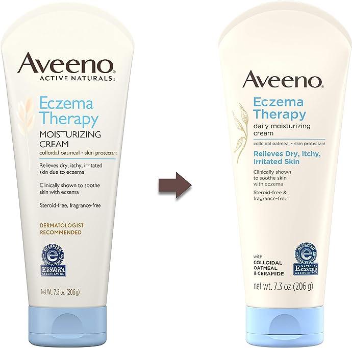 销量第一 Aveeno 艾维诺 成人保湿湿疹舒缓霜 206g装 6.8折$7.99 S&S订购可再优惠5% 海淘转运到手约¥72