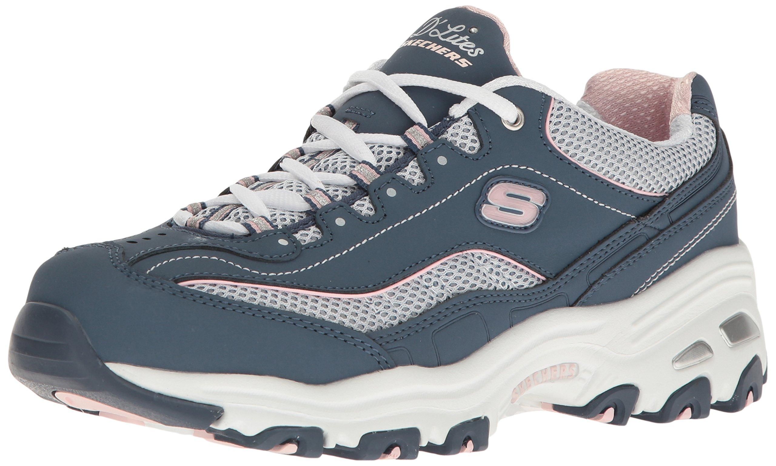 Skechers 斯凯奇 女式 D'Lites 记忆海绵 系带运动鞋