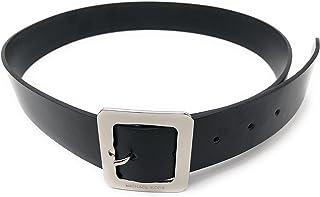 Michael Kors 迈克·科尔斯 黑色皮带 带银色搭扣 556001C 尺寸 M
