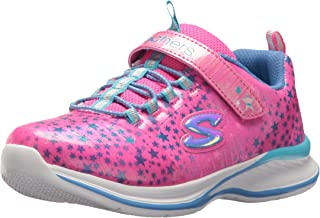Skechers 女童 Jumpin'Jams-Cosmic Cutie 运动鞋