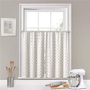 "Vue Modo 小面板层隐私窗户护理对浴室用 Linen 52"" x 24"" 18511052024LIN"