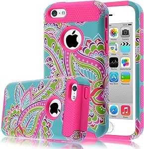 V-iPhone 5C 花朵1G530-02 iPhone 5c 桃红色