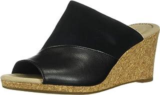 Clarks 女士 Lafley Wave 坡跟凉鞋