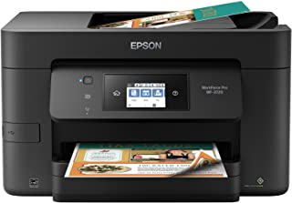 EPSON WorkForce PRO wf-3720无线一体机彩色喷墨打印机,复印机,扫描仪, Wi-Fi Direct