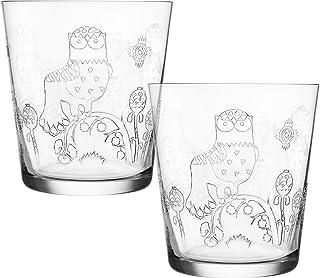 Iittala Taika Etched Glass Tumblers (Set of 2)