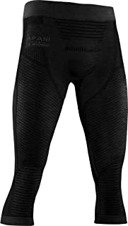 X-Bionic Apani 4.0 男士 3/4 长度美利奴裤,男式
