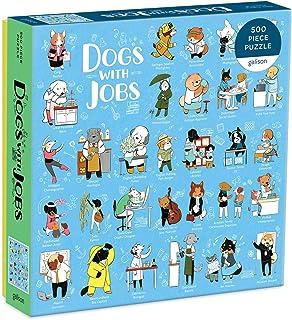 工作的狗狗 拼图 500片装