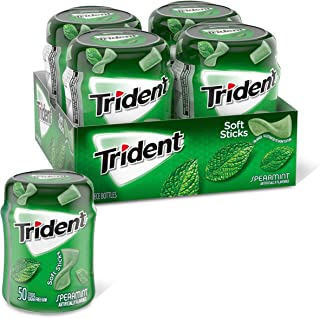 Trident 散裝無糖口香糖 (留蘭香, 50塊, 4件裝)