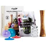masontops fermentation 工具套装–玻璃 fermentation weights 和蔬菜 tamper