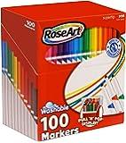Rose Art SuperTip 彩色可洗马克笔 100支套装