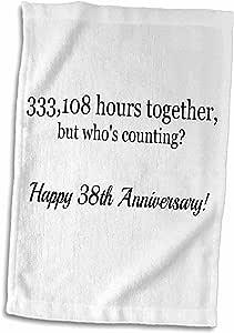 3drose brooklynmeme 周年–幸福38周年纪念日–333108小时 Together–毛巾