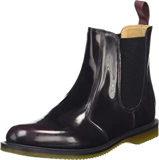 Dr. Martens Women's Flora Leather Chelsea Boot