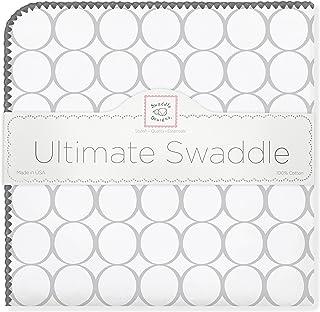 swaddledesigns 终极婴儿毯,圆圈图案 Sterling