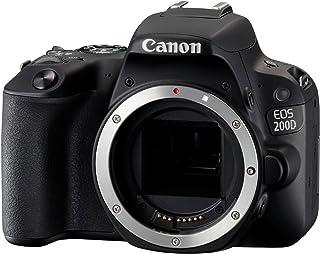 Canon EOS D 数码单反相机 ( 24.2万像素,7.7厘米(3英寸) 显示屏,APS-C CMOS 传感器,WLAN 带 NFC,全高清,DIGIC 7 画面处理器) 套装 inkl. EF-S 18–55毫1:4.0&n...