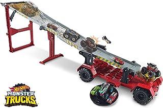 Mattel Games 怪物卡车高山竞赛和游戏玩具套装