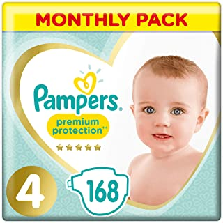 Pampers 帮宝适 Premium Protection 尿布 Windel Gr. 4 168
