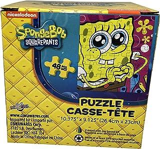 SpongeBob SquarePants 盒装拼图 - 10.37 英寸 x 9.12 英寸