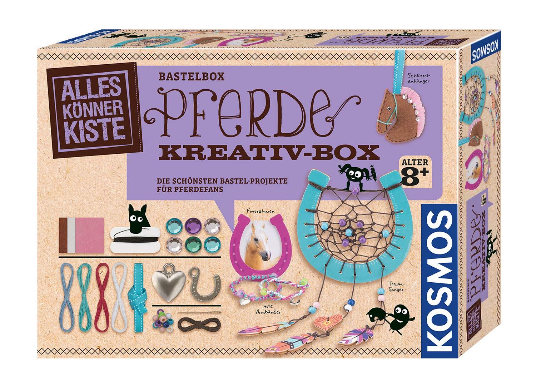 KOSMOS 618984 玩具人偶公仔 DIY手工套装适合8岁以上儿童,儿童生日的理想礼物。 *美丽的马人手工项目