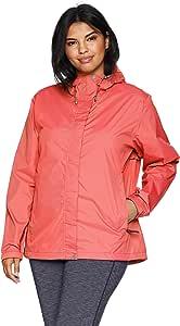 White Sierra 女士 Trabagon 防雨壳 - 加大码 3X 红色 X2207WX-WML-3X