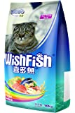 SANPO 珍宝 喜多鱼海洋鱼味成猫猫粮10kg(亚马逊自营商品, 由供应商配送)