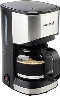 Korona 12015 不锈钢咖啡机 黑色 - 过滤咖啡机 5杯咖啡咖啡机 带一壶